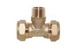 Тройник труба-нар.резьба-труба: «T/S» Lavita Co., Ltd