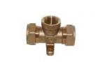 Тройник труба-вн.резьба-труба: T/S Lavita Co., Ltd с креплением